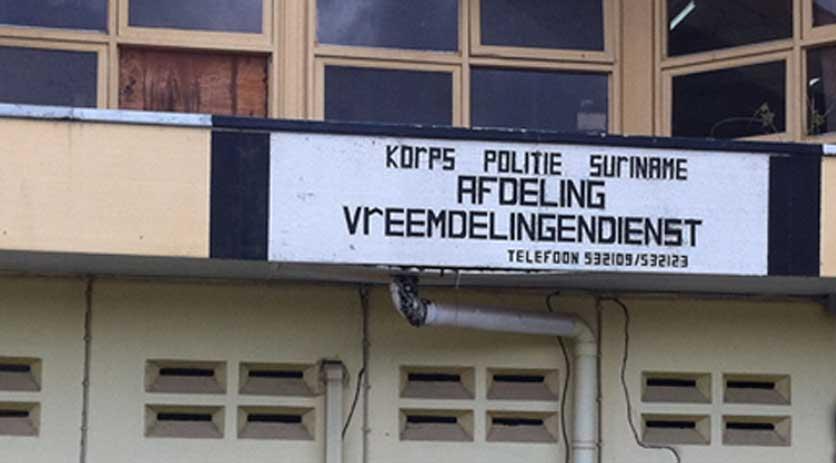 Aanvraag verblijf Suriname