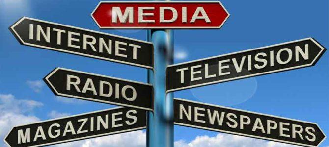 Televisie en kranten in Suriname