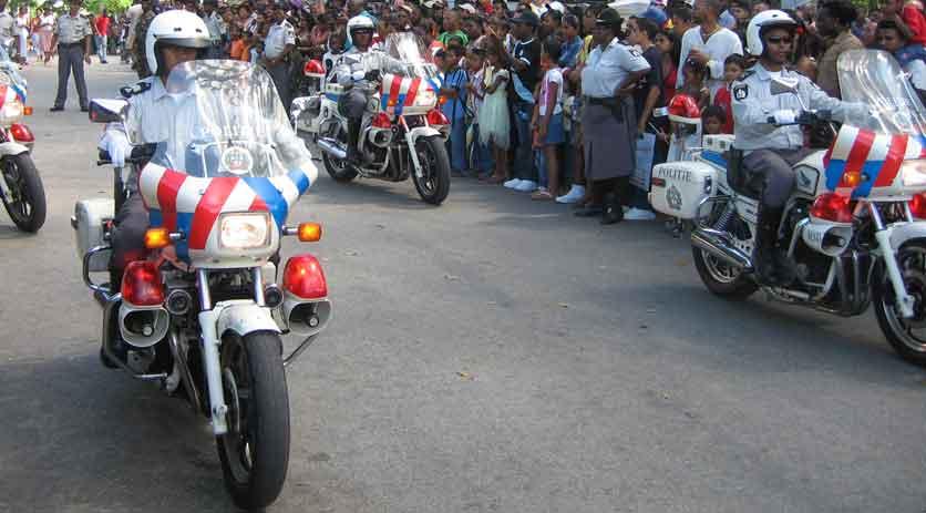 Veiligheid in Suriname