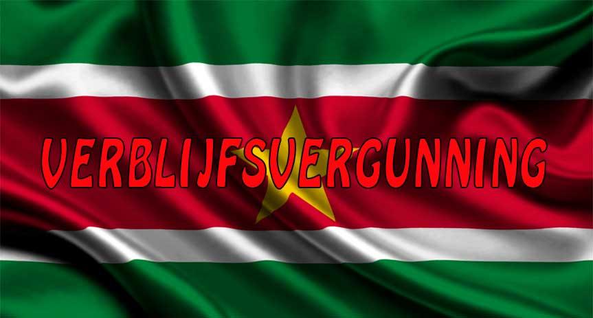 Verblijfsvergunning Suriname