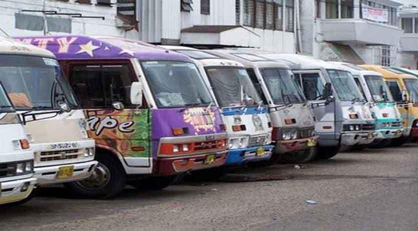 Vervoer stage Suriname