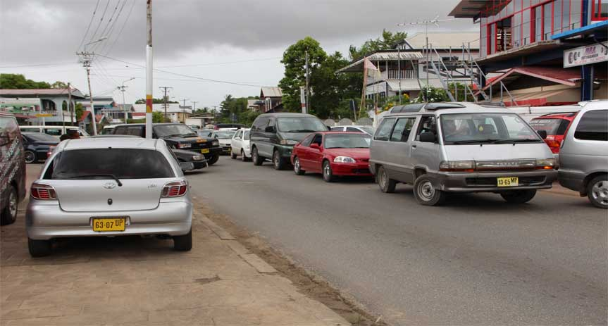 Verkeer in Suriname