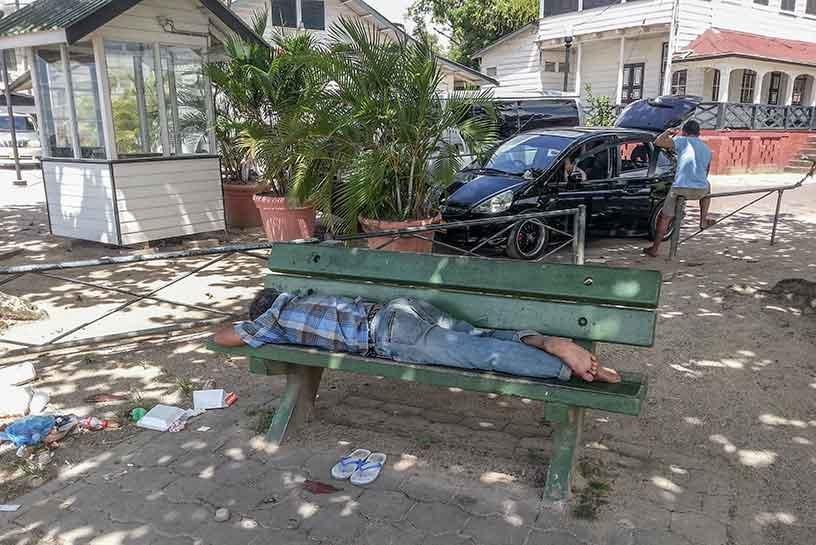 Suriname armoede