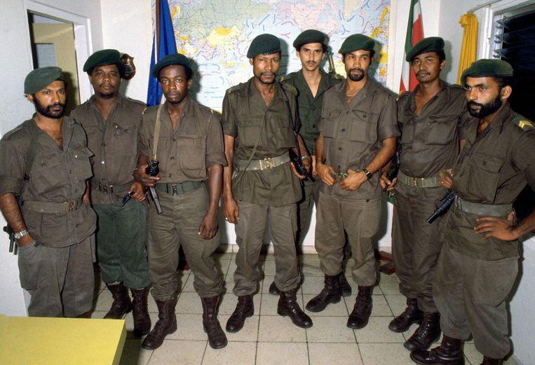 Suriname militaire coup