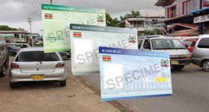 driver's license Suriname