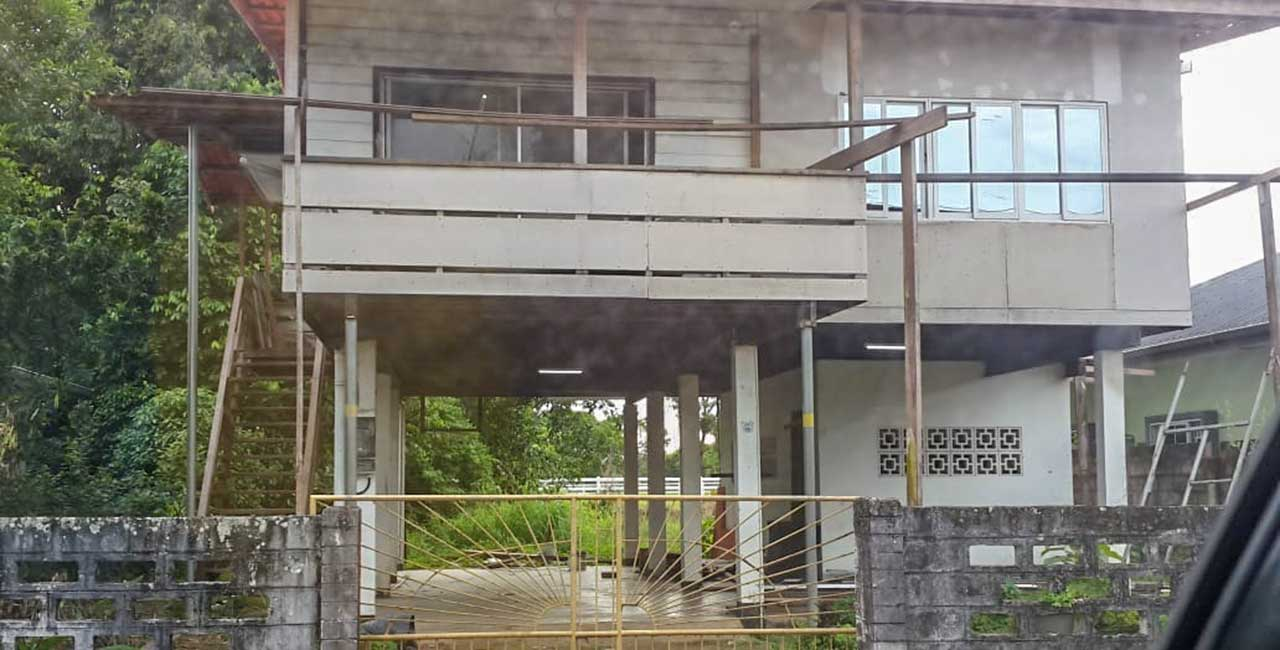 Suriname huizen