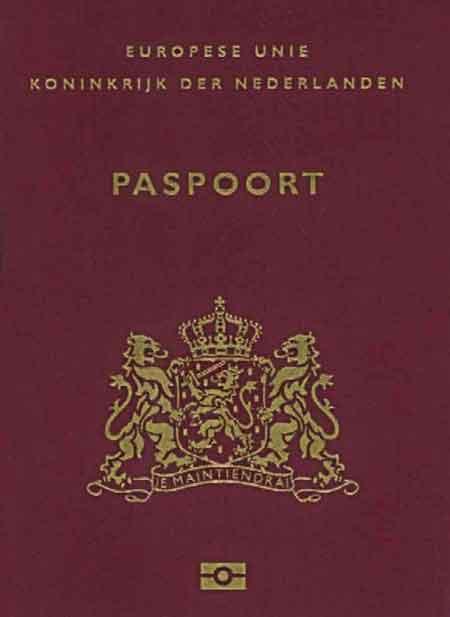 Suriname Nederlands paspoort