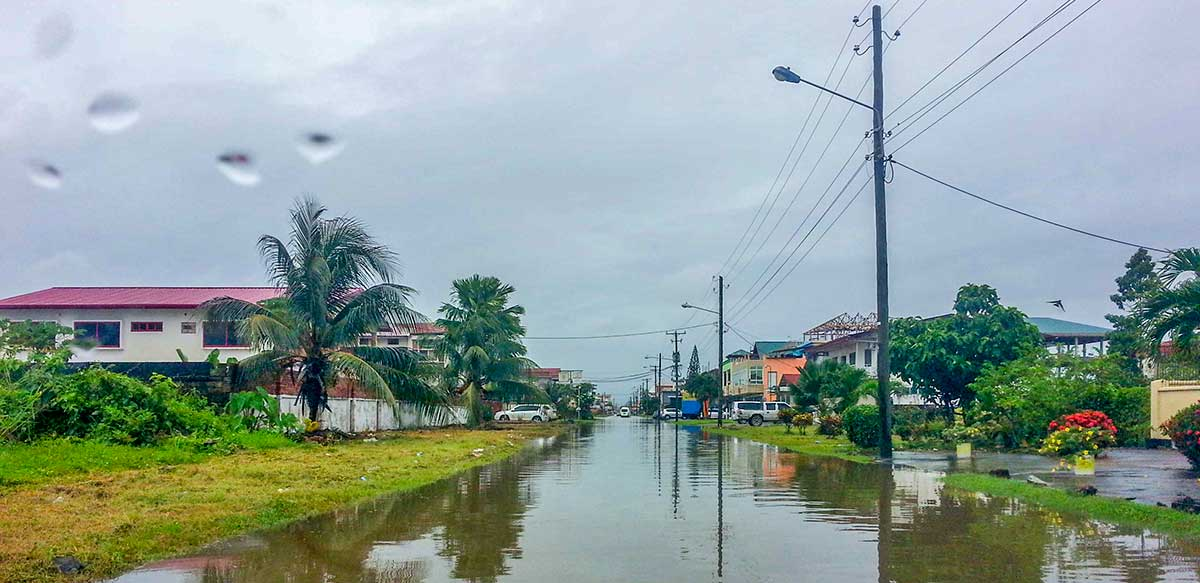 Seizoenen in Suriname