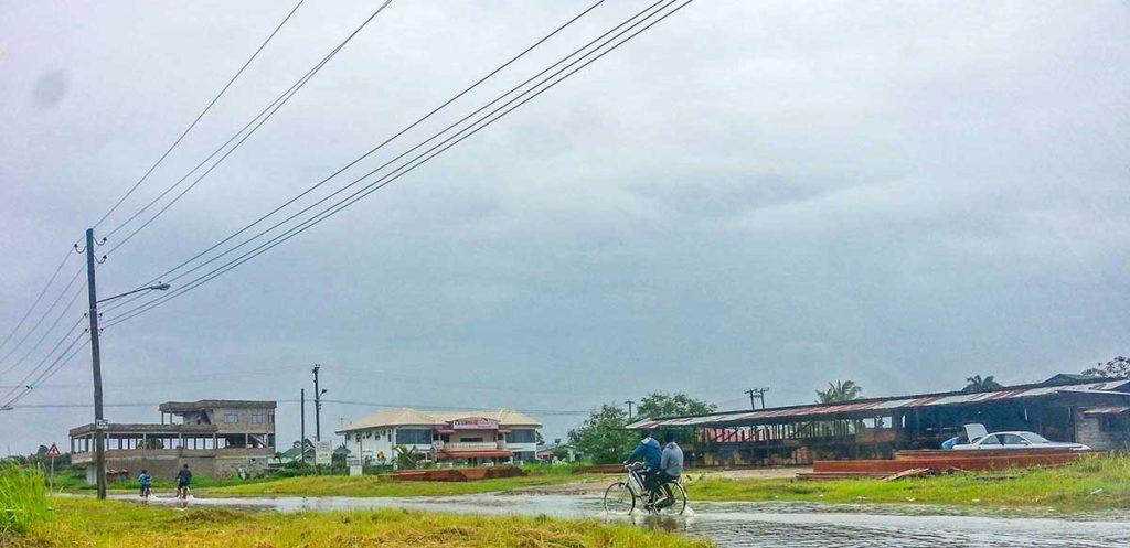 Wateroverlast Suriname